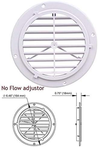 1pc plástico Salida de Aire del Ventilador Rejilla de ventilación ...