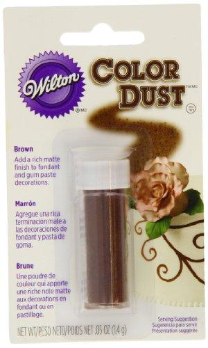 Wilton 703-106 Color Dust, Brown (Color Dust Wilton)