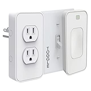 Switichmate Smart Power and Toggle Switch Kit, Dual Outlet/Light Switch/Timer/Automation, DIY, USB Charger, Nightlight, No Tools, No Wiring, Snap on/Plug In, Motion Detector, Smart Home, App Control