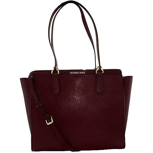 MICHAEL Michael Kors Dee Dee Large Convertible Tote Bag (Plum)