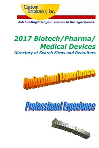 2017 Biotech/Pharma/Medical Devices Directory of Search