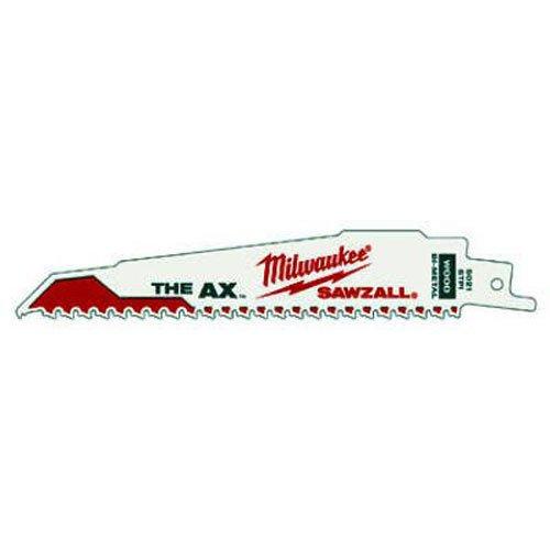 Milwaukee Super Sawzall Blade Sä belsä geblatt 48005021 (5) 150 x 5 mm The AX 48-00-5021