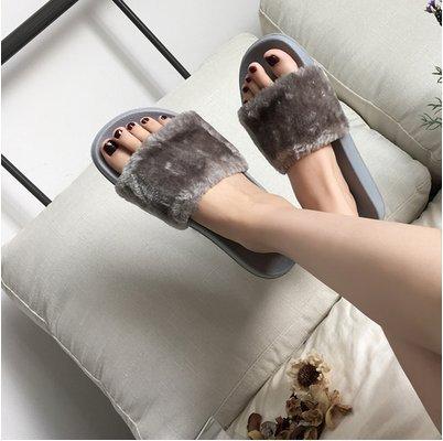 LaxBa Ladies Cachemire tricoté en coton gris maison Chaussons antiglisse39