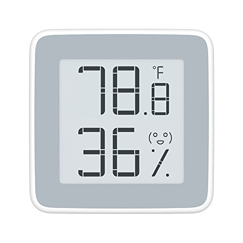 MiaoMiaoCe Digital Hygrometer Thermometer Indoor, Humidity Monitor with Temperature Gauge Humidity Meter, E-Ink Screen Multifunctional Hygrometer for Baby, Kids, Home, Car, Office, etc. by MiaoMiaoCe