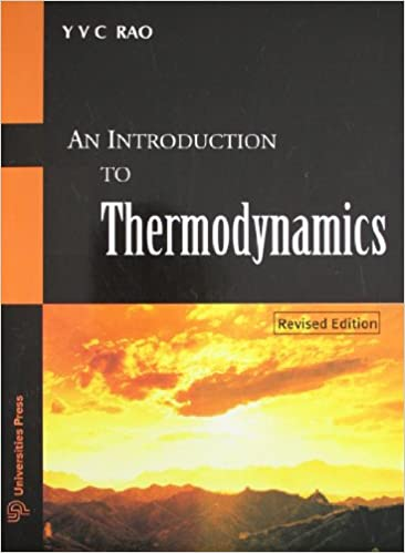 y v c rao an introduction to thermodynamics