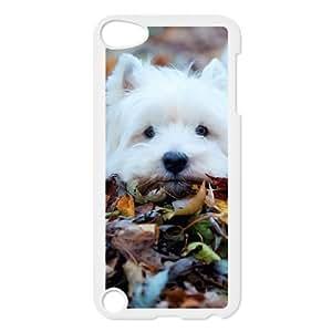 Cute Westie pup Funda iPod Touch 5 Case White E1R7NX