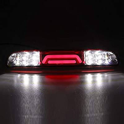 For Super Duty/Explorer Sport Trac/Mazda Third 3rd Brake High Mount Stop LED Light Tail Light Rear Stop Lamp Replacement: Automotive