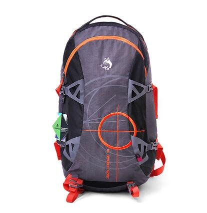 Outdoor couple section mountaineering bag Men and women 50L shoulder bag Sports travel travel backpack (gray) by phsiuye