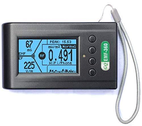 Amazon.com: Advanced GQ EMF-360 V2 - Medidor ...