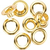 General 1261-4 #4 Brass Grommet Refills 72 Count (3 Packs of 24)