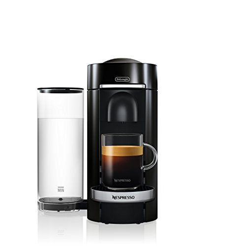 Nespresso VertuoPlus Deluxe Coffee and Espresso Maker by De'Longhi, Black