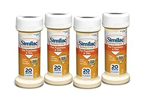 Amazon Com Similac Sensitive For Fussiness And Gas Pack