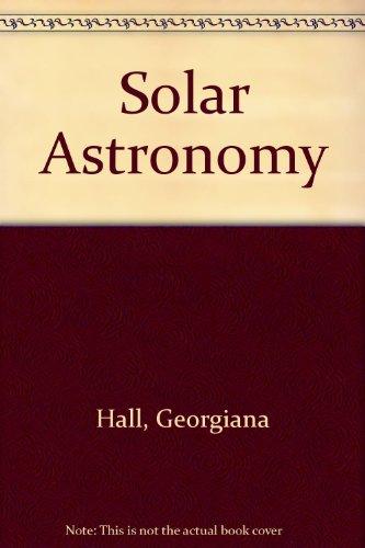 Solar Astronomy Laboratory Manual