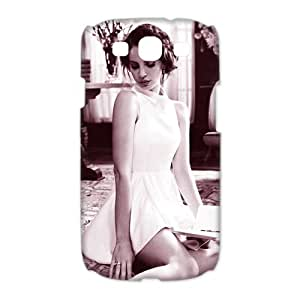 CTSLR Charming Lana Del Rey Protective 3D Hard Case Cover Skin for Samsung Galaxy S3 I9300-1 Pack-5