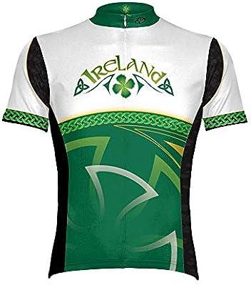 Primal Wear 2012 Men s Ireland Original Short Sleeve Cycling Jersey -  IRE1J10M ... 0cc4b8de3