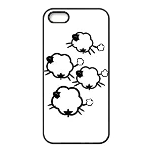 ZK-SXH - Sheep Diy Cell Phone Case for iPhone 5,5G,5S, Sheep Personalized Cover Case