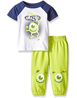 Baby Boys' Monsters Jog Set (Pack of 2)