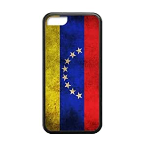 Canting_Good,Flag, Custom Cases for iPhone 5C TPU (Laser Technology)