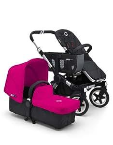 Bugaboo Donkey Tailored Fabric Set, Pink (Discontinued by Manufacturer) (Discontinued by Manufacturer)
