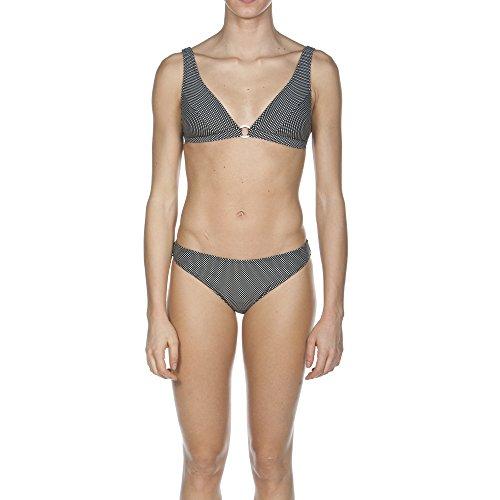 Arena Bikini de lunares, con sujetador de aro Negro - negro