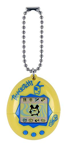 (Tamagotchi Electronic Game, Yellow/Blue)