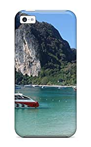 For Iphone 5c Tpu Phone Case Cover(thailand Holidays Phi Phi Beach)