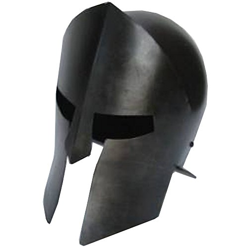 [Handtooled Handcrafted Antique Spartan 300 Armor Helmet - Medieval Costume] (Spartan 300 Costumes)