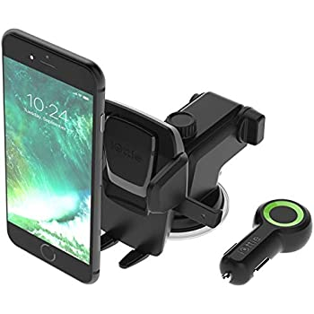 iOttie Easy One Touch 3 & RapidVOLT Bundle for iPhone XS MAX R 8 Plus 7 Plus Samsung Galaxy S9 S8 Edge S7 S6 Note 9