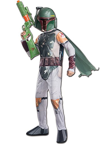 Rubie's Costume Star Wars Classic Boba Fett Child Costume, Medium