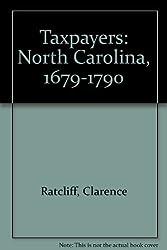Taxpayers: North Carolina, 1679-1790