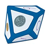 EAI Education Jumbo Magnetic QuietShape Foam Write-On/Wipe-Off 10-Sided Die