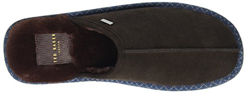 Ted Baker Mens Brun Mocka Youngi 2 Tofflor