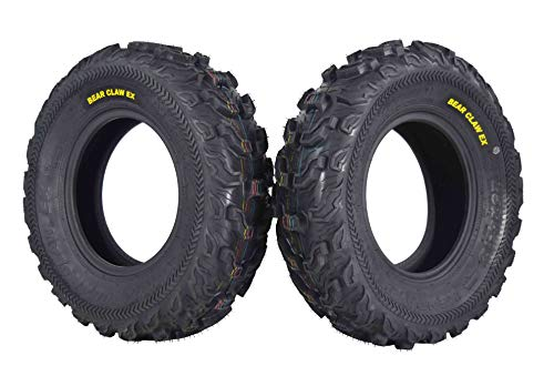 Bear Small Claw - Kenda Bear Claw EX 25x8-12 Front ATV 6 PLY Tires Bearclaw 25x8x12-2 Pack