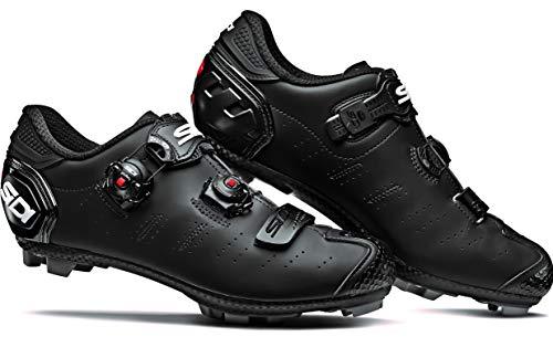 Dragon 5 Mountain Bike Shoes (42.0, Matte Black/Black)