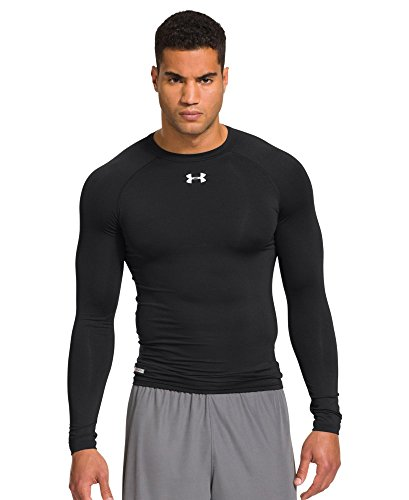 Under Armour Men's HeatGear Sonic Compression Long Sleeve XX-Large Black