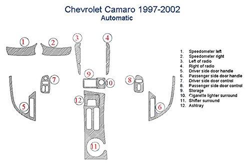 Chevrolet Camaro Dash Trim Kit, Automatic Transmission - Magma Burlwood by American Dash
