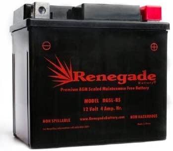 Replacement PTX5LBS-FS Motorcycle Battery