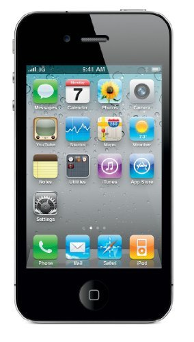 Apple iPhone 4S GSM Unlocked 16GB Smartphone - Black