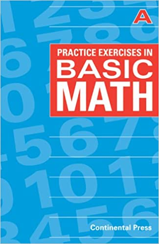 Math Workbooks: Practice Exercises in Basic Math, Level A - 1st ...
