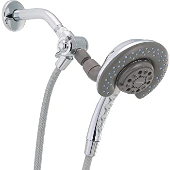 Peerless 76950D In2ition Two-In-One Shower, Chrome - Fixed