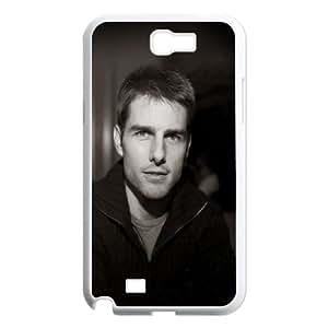 Samsung Galaxy N2 7100 Cell Phone Case White hc44 tom cruise vanilla sky portrait celebrity LV7127674