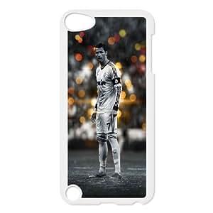 iPod Touch 5 Case White Ronaldo Black And White P6S8IO