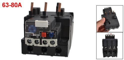 dealmux-jr28-33-80a-63-80a-adjustable-current-3-pole-motor-protective-thermal-overload-relays