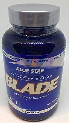 Blue Star Nutraceuticals - Blade Pharmaceutical Grade Fat Burner - 120 Capsule (1)