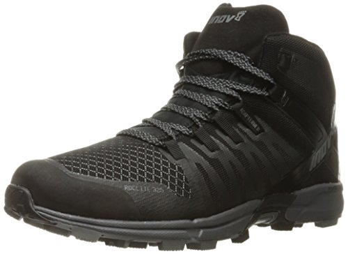 - Inov-8 Men's Roclite 325 Trail Runner, Black/Grey, 9 D US