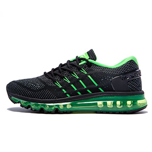 YiDiar Men's Athletic Trail Air Cushion Running Shoes Trainer Outdoor Road Sports Sneakers - Mens Running Shoes 9e