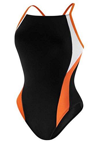 스피도 Speedo Womens Launch Splice Cross Back Endurance Swimsuit