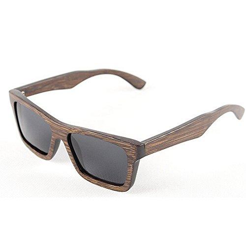 hechas Gafas las de de bambú mano la cuadradas gafas sol madera los polarizadas de de de a ULTRAVIOLETA Retro gafas de de retro sol Gafas hombres conducen Ga Marrón que Sunglasses Beach sol de protección sol YwxzaYfPHq