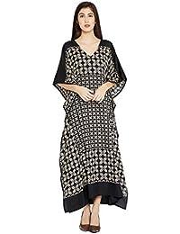 Burgundy Paisley Long Kaftan Kimono Maxi Dress Plus Size Caftan Gown  Nightdress for Women 7c2e5f057bb6