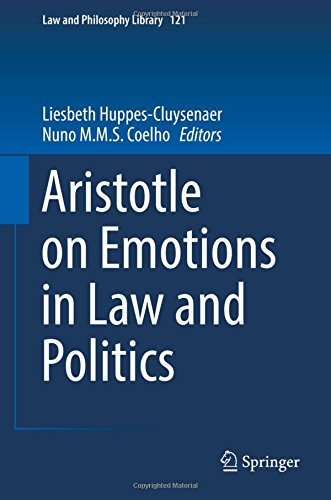 Aristotle on Emotions in Law and Politics (Law and Philosophy Library)